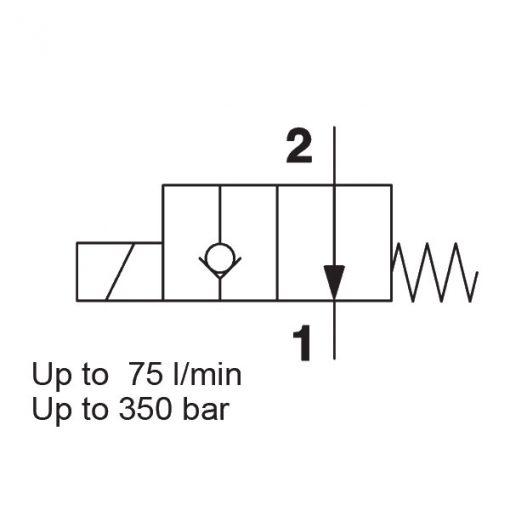 Solenoid valve WSM10120Y-01