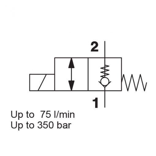 Solenoid Directional Valve WSM10120ZR-01