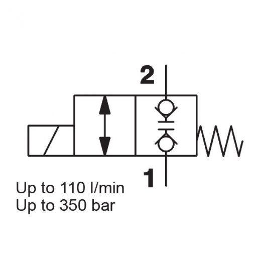 solenoid valve WSM12120W