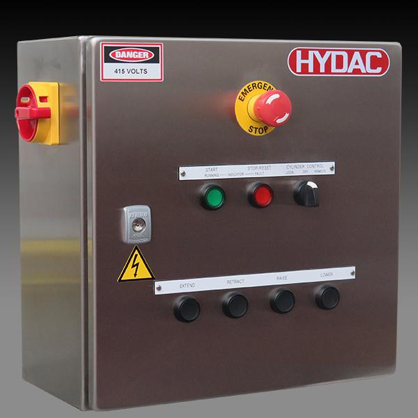 Assembled Motor Starter Panel - ESB | HYDAC