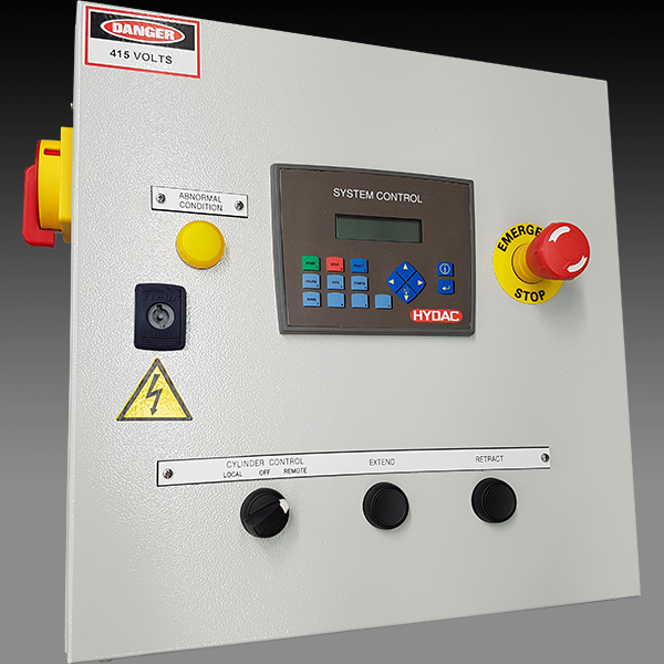 Assembled motor starter panel esc hydac for Motor starter control panel